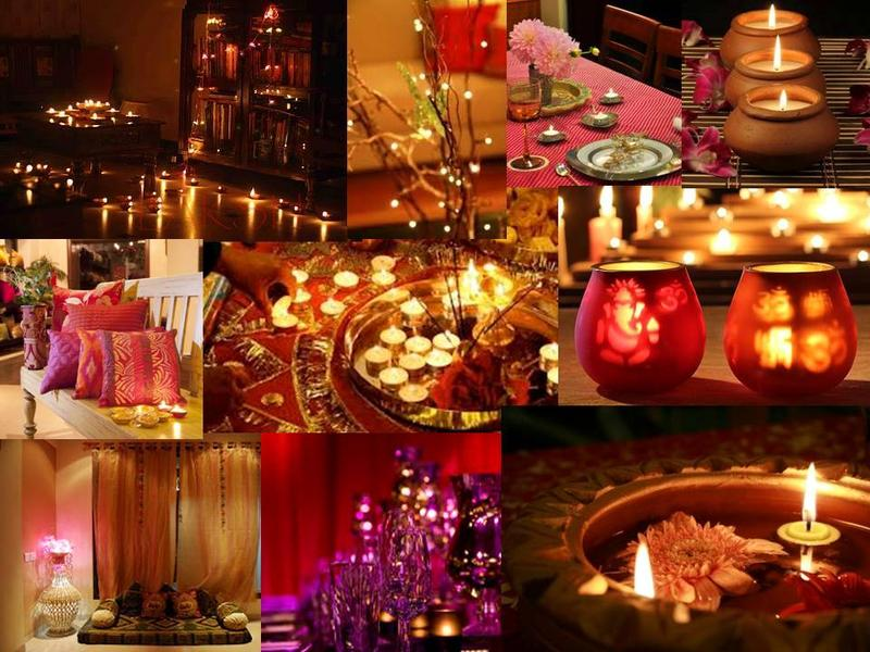 Diwali home decorations for Home decoration pics