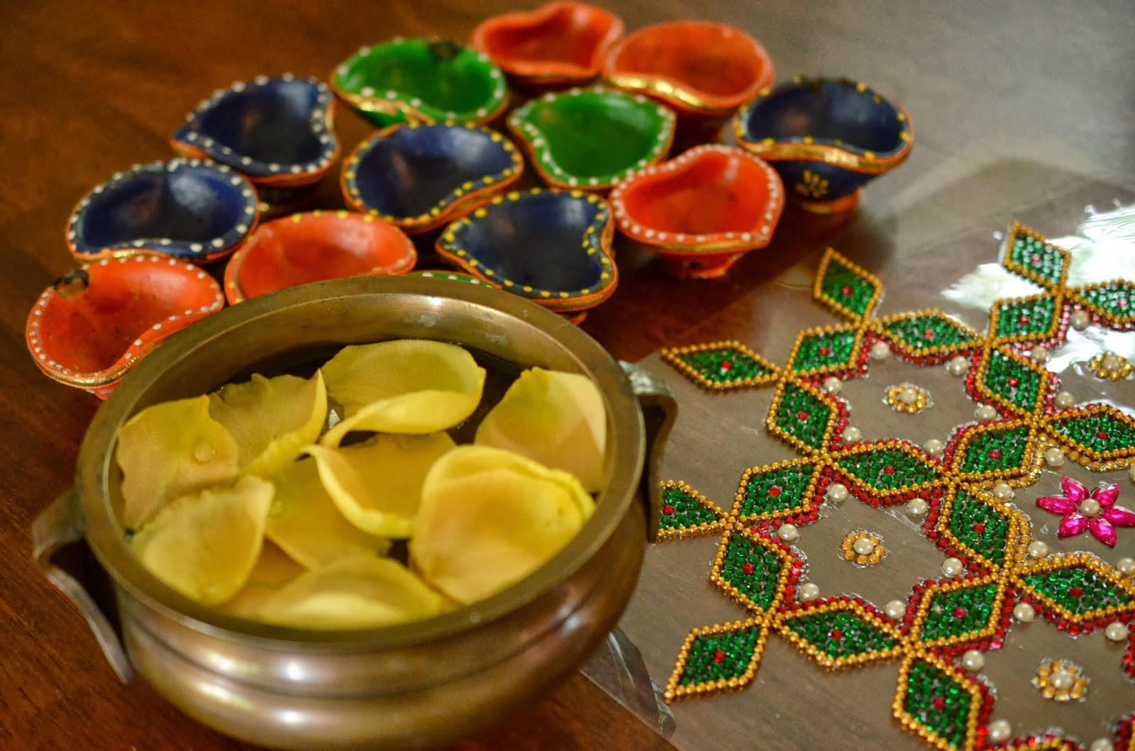 Diwali home decoration ideas for How to make diwali decorations at home