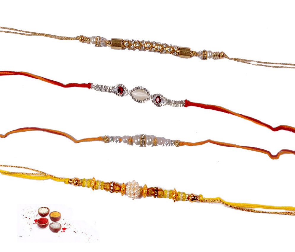 jeweled rakhi