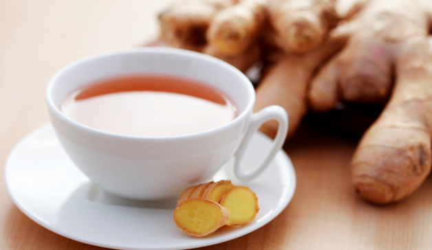 a cup of refreshing ginger tea