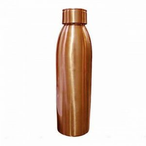 matte finish copper bottle