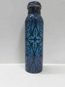 printed water bottle