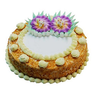 Mothers Day-1kg Eggless Butterscotch Radiance Cake