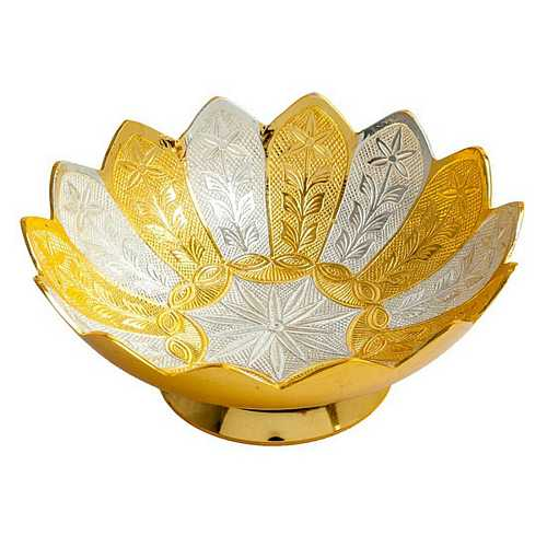 Gold Plated Bowl for Dhanteras and Diwali Gift