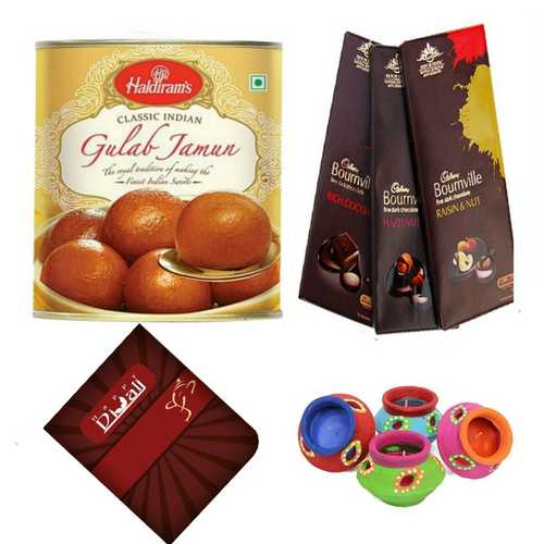 Diwali Sweets and Chocolates Hamper Gift