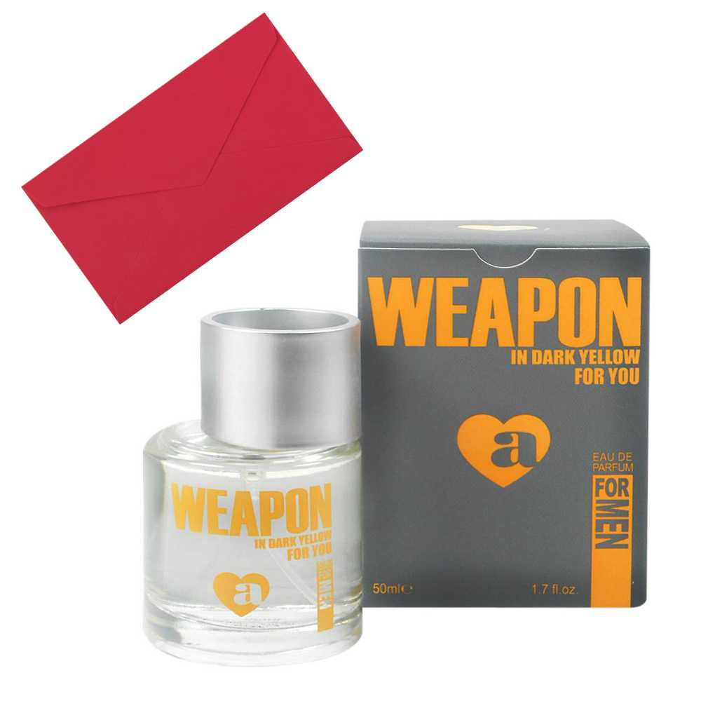 Weapon in Dark Yellow Perfume for Men
