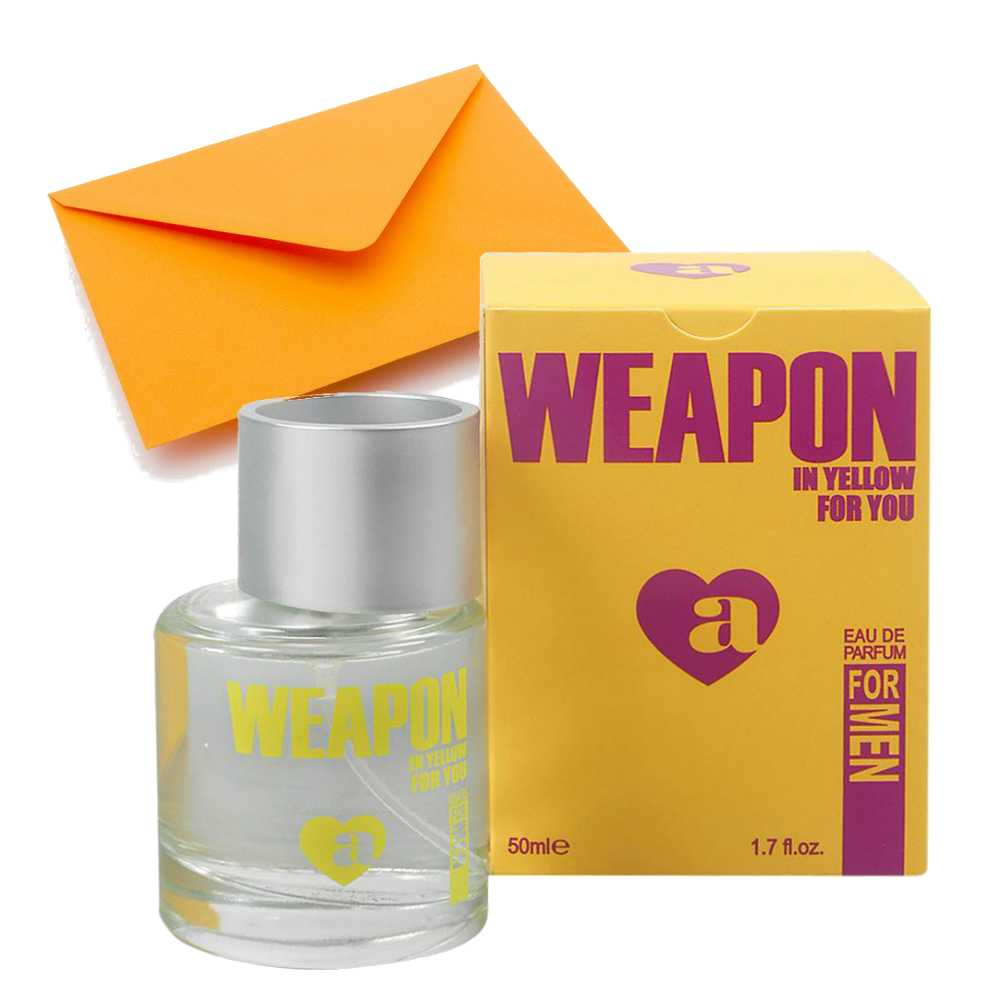 Weapon in Yellow Perfume for Men