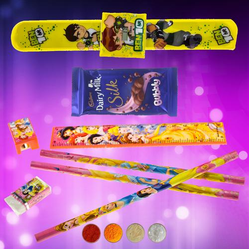 Ben10 Rakhi Combo for Brother