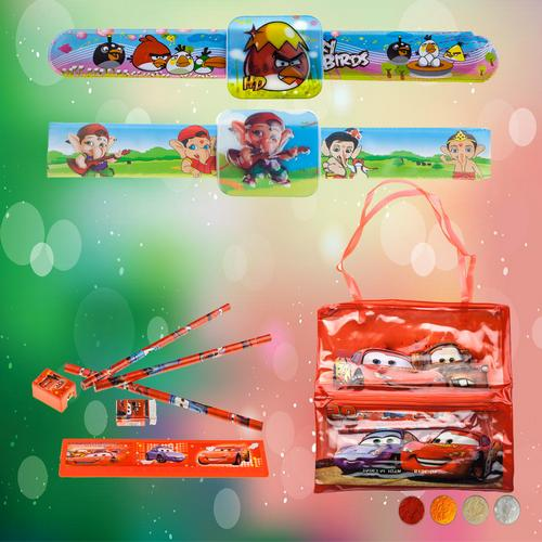 Kids Rakhi Band Gift Combo