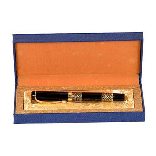 24k Gold Plated and Black Pen in Case
