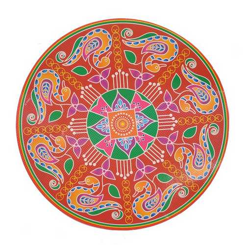 Designer Rangoli Stickers - Set of 5