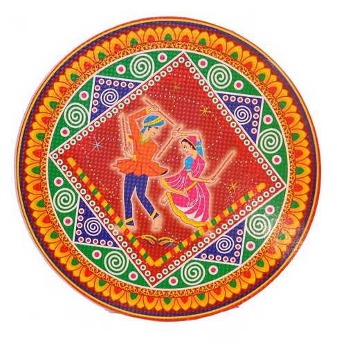Dandiya Design Rangoli Stickers - Set of 5