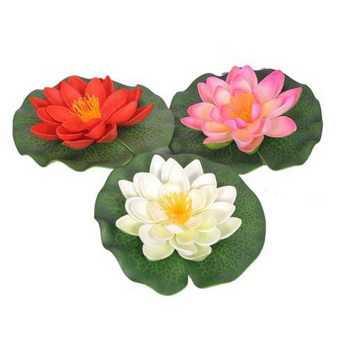 Decorative Artificial Floating Flowers