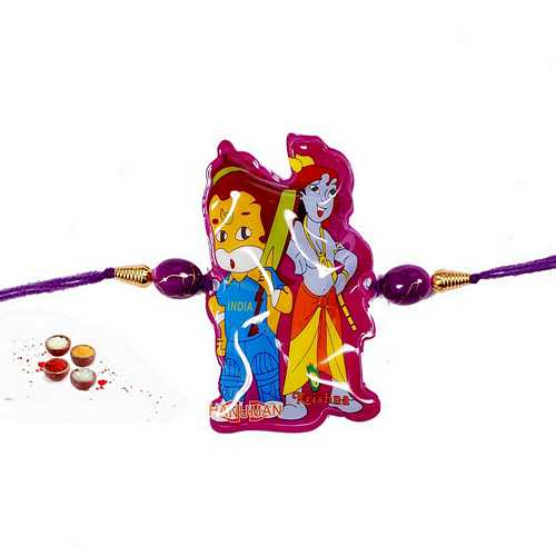 Bal Hanuman n Krishna Rakhi for Kids