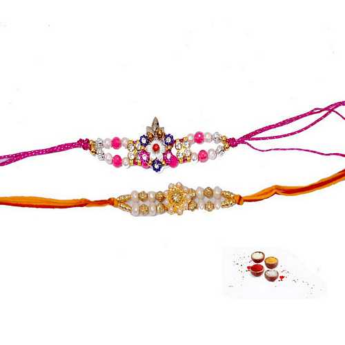 Fancy Pair of Designer Rakhis For Your Brothers