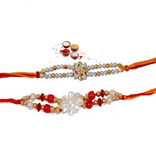 Cutest Pair of Designer Mauli Rakhis