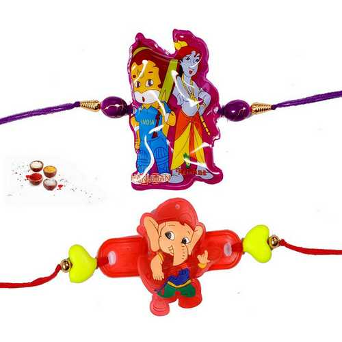 Fascinating Kids Rakhi Set