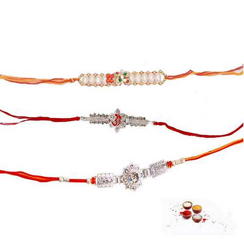 Awesome Set of 3 Premium Rakhis