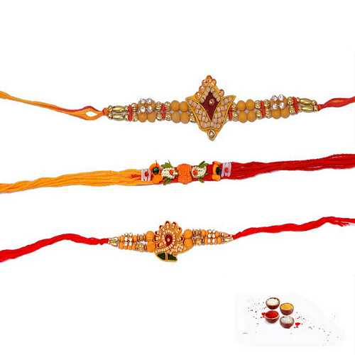 3 Auspicious Rakhi Threads