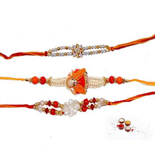 Elegant n Designer Rakhis Set of 3