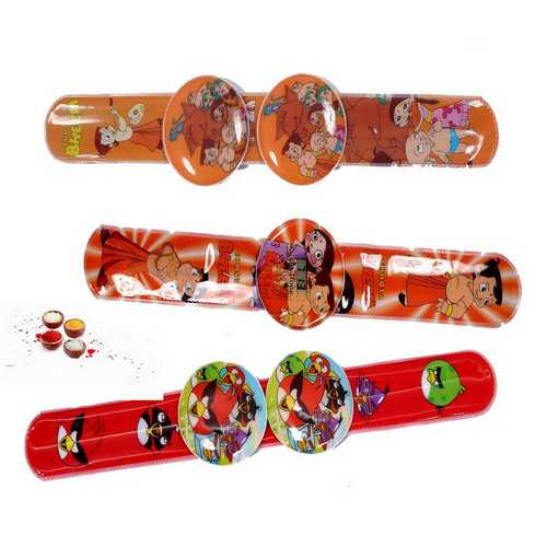 Three Cute Rakhis for Kids