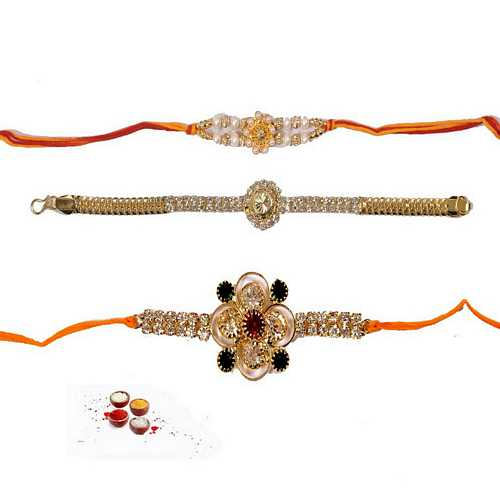 Stunning n Premium Rakhi Set of 3