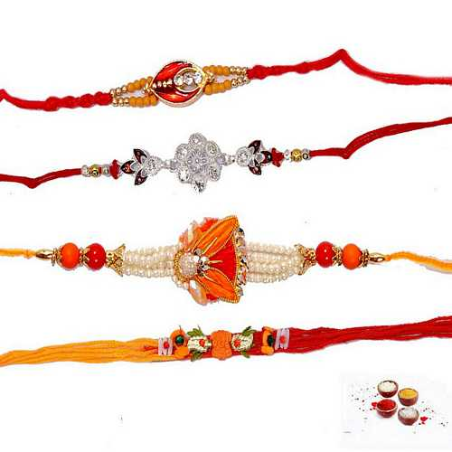 Fascinating Rakhis Set of 4