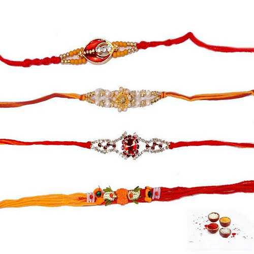 Atoot Rishta Rakhis Set of 4