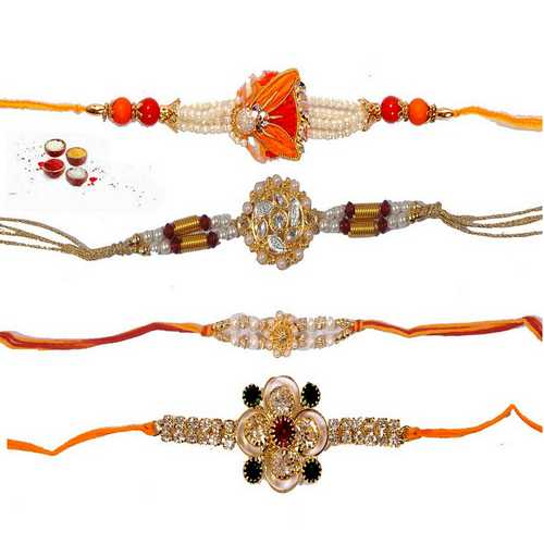 Premium Collection Rakhi Set of 4