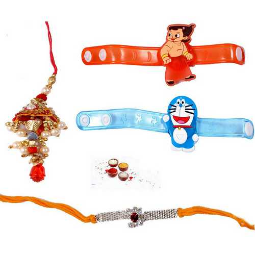 Premium Rakhi Collection - Set of 4
