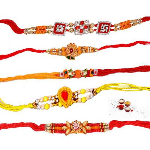 5 Fabulous Auspicious Rakhi Threads