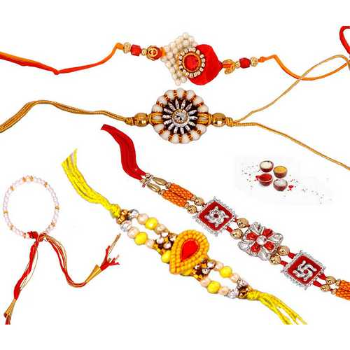 5 Fascinating Rakhi Threads