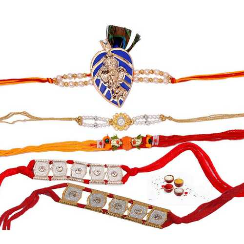Fabulous Rakhis Threads - Set of 5