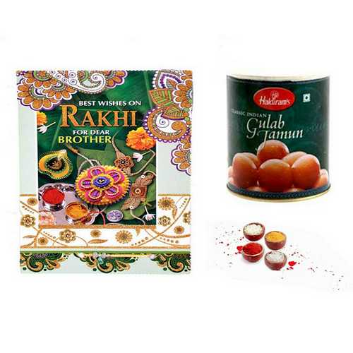 Rakhi Hamper N Card