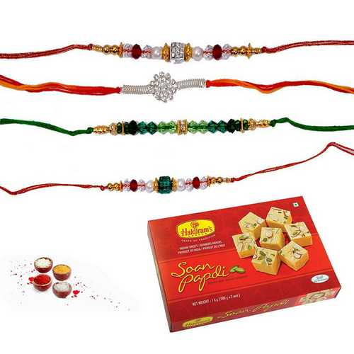 Soan Papdi Surprise on Rakhi