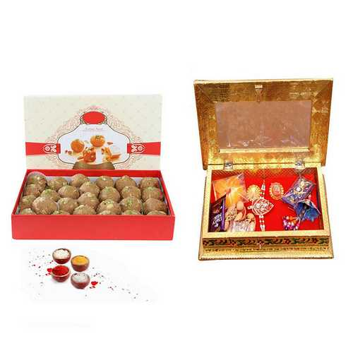 Raksha Bandhan Hamper with Laddu