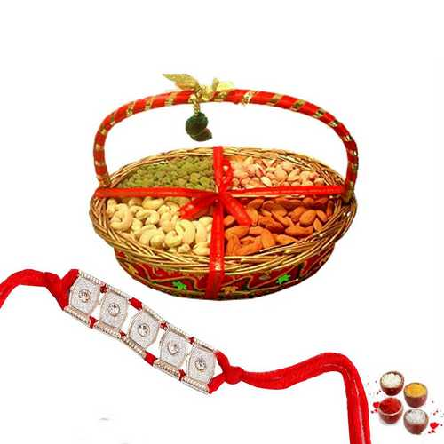 Dry Fruits Rakhi Hamper
