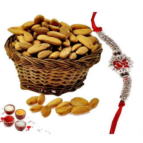 Ganesha Rakhi & Almonds