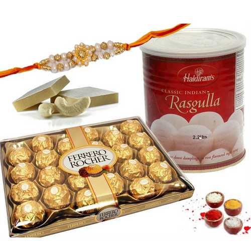 Elite Rakhi Hamper