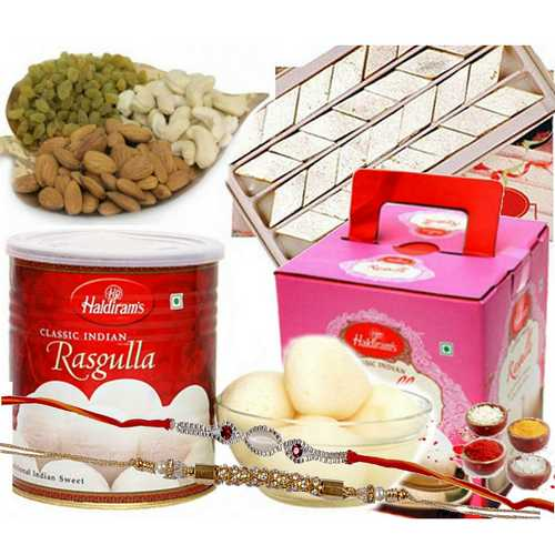 Wholesome N Delicious Rakhi Hamper