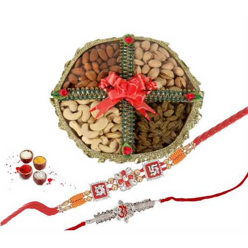 Auspicious Rakhi with Healthy Delights