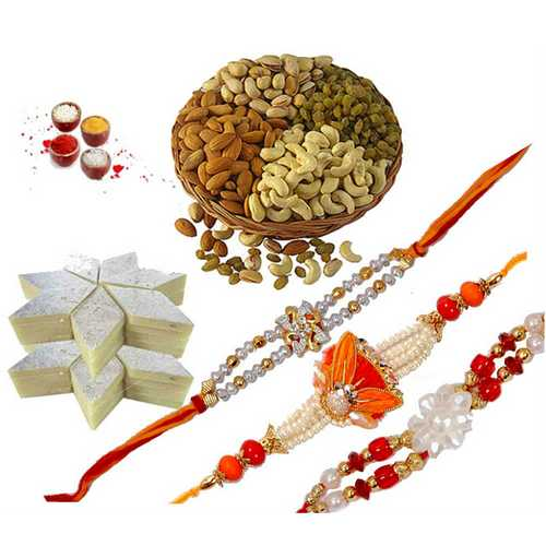 Elite Rakhi Hamper for Bhaiya