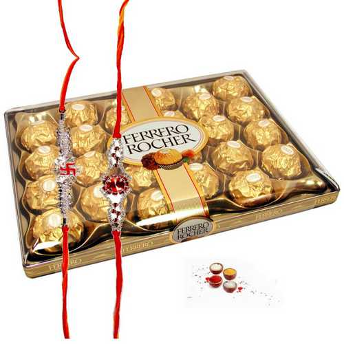 Divine Rakhi with Ferrero Rocher