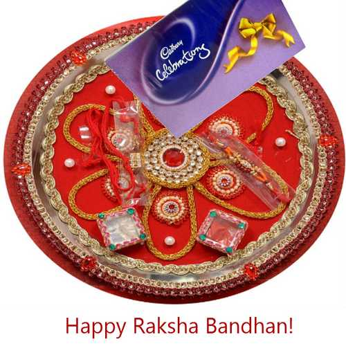 Rakhi Celebration with Pooja Thali