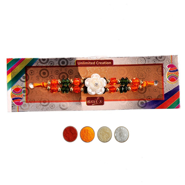 Beads Fashion Rakhi