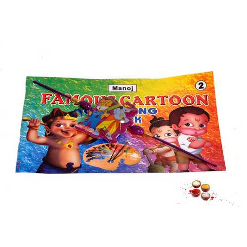 Musical Kids Rakhi with Coloring Book