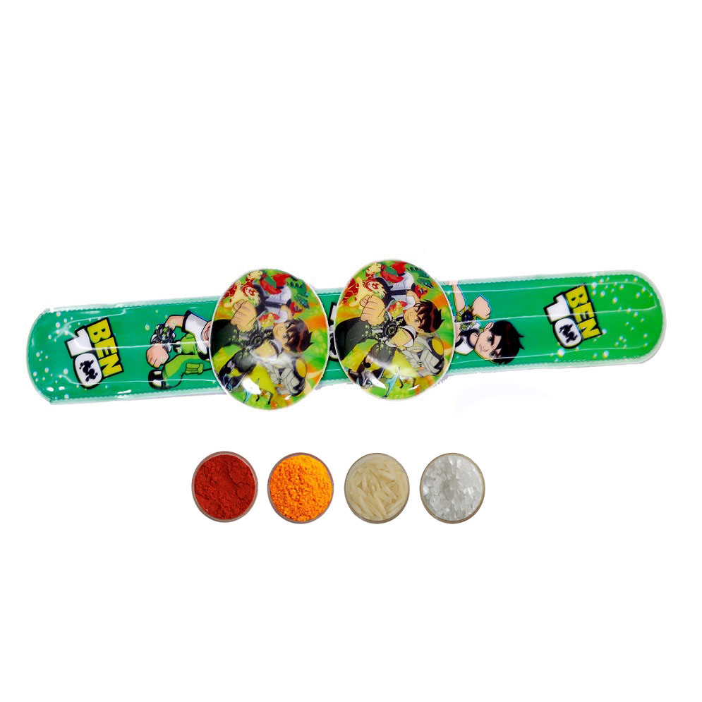 Kids Rakhi with Ben 10 Design