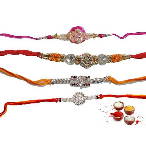 Designer Rakhis Set of 4