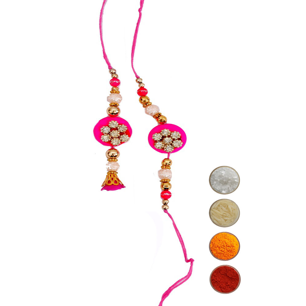 Designer Rakhi for Bhaiya and Bhabhi
