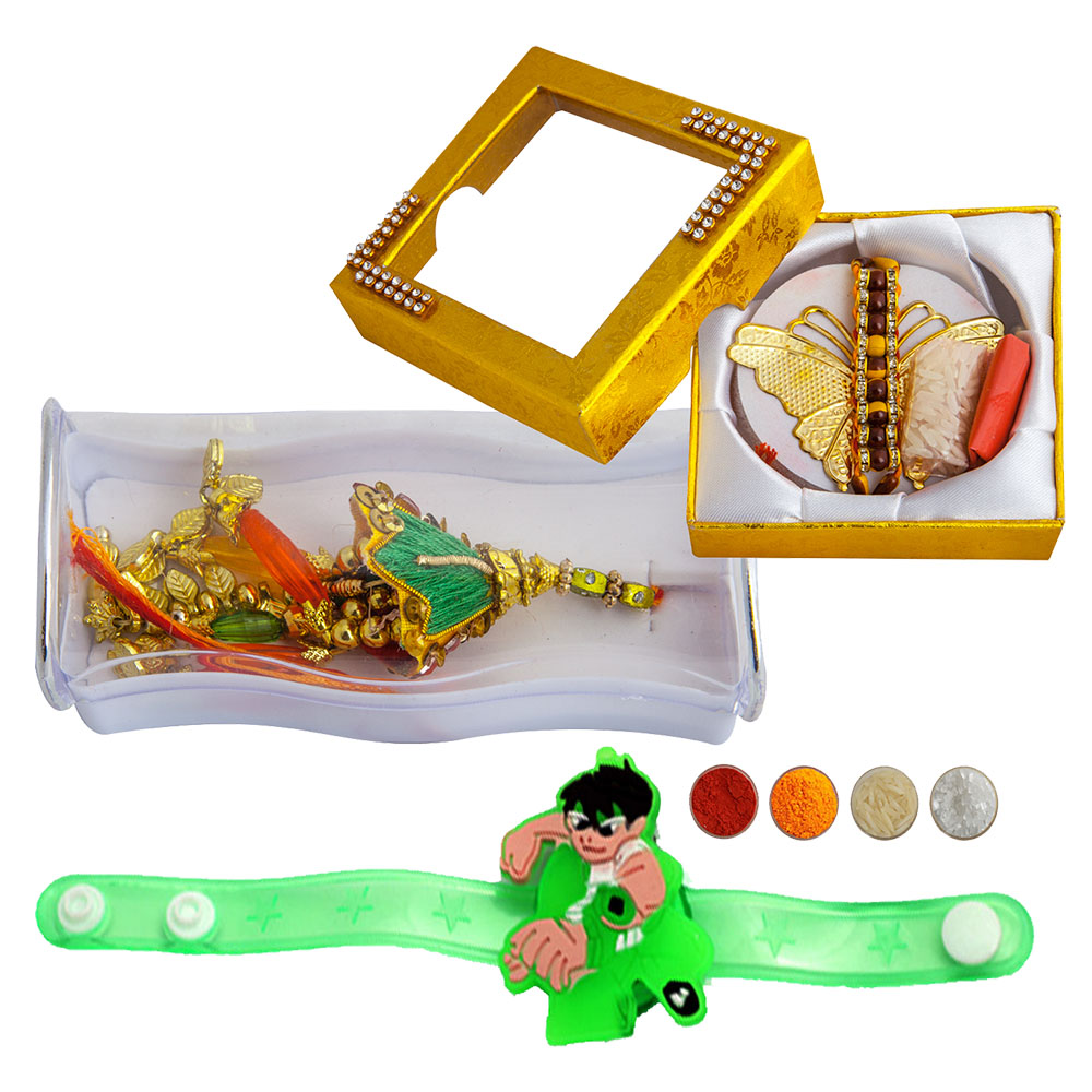 Family Rakhi Set of Three